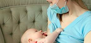 Можно ли кормить ребенка грудью при ангине у матери?