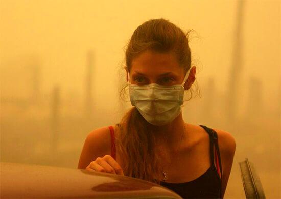 Марлевая повязка при аллергии