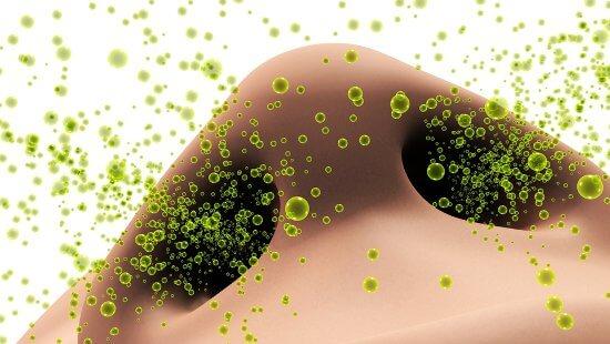 Аллергены в воздухе перед попаданием в нос