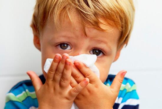 Быстрое лечение насморка у детей