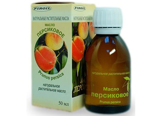 Флакон персикового масла