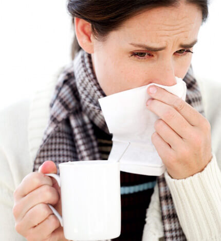 Многим беременным приходится терпеть насморк на протяжении нескольких недель