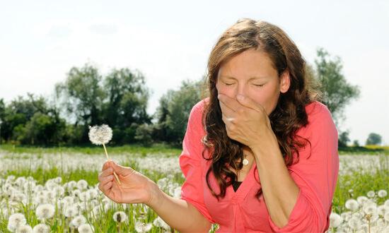 Насморк при сенной лихорадке