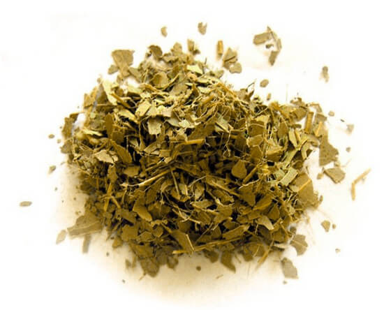 Сухой лист эвкалипта