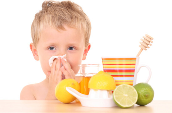 Народные методы лечения насморка у детей