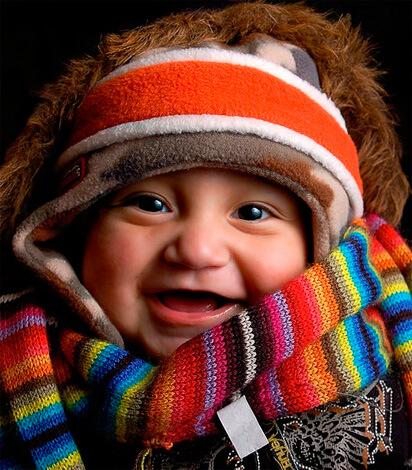 Общее прогревание тела ребенка при насморке