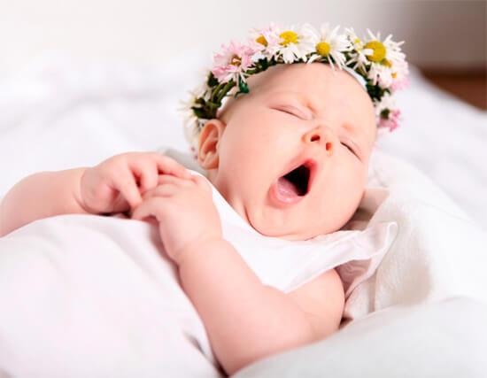 Сонный малыш