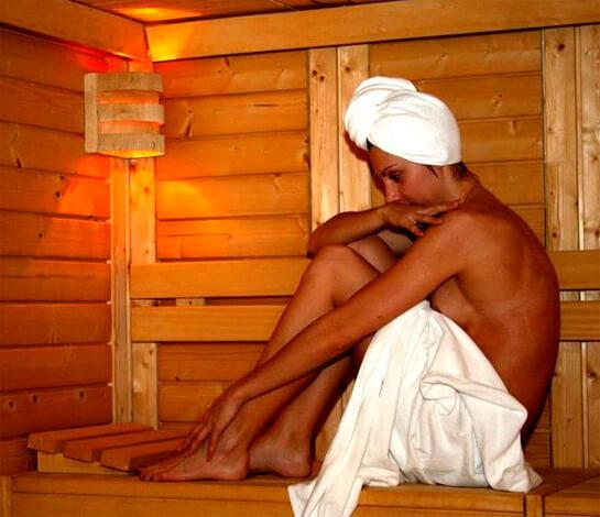 Лечение простудных заболеваний в бане