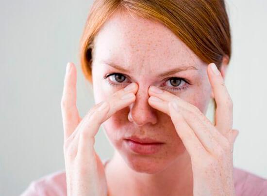 Массаж носовой перегородки от насморка