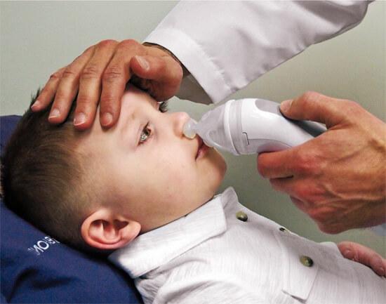 Промывание носа в поликлинике