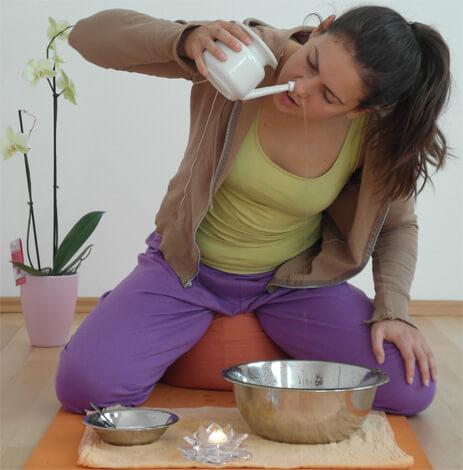 Джала-нети или промывание носа