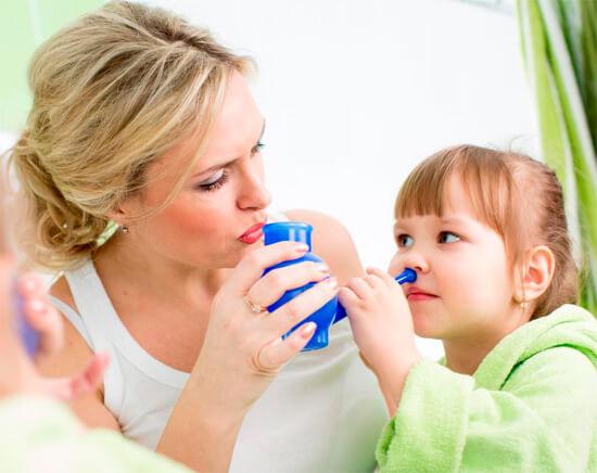 Специальное приспособление для промывания носа