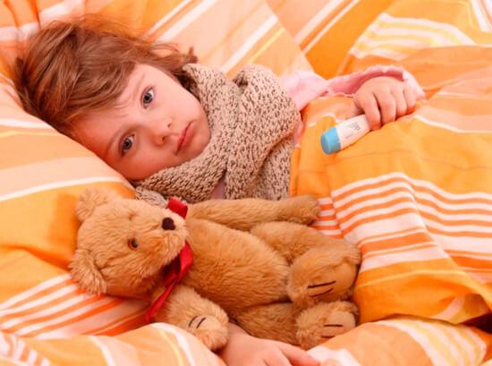Постельный режим для ребенка при насморке
