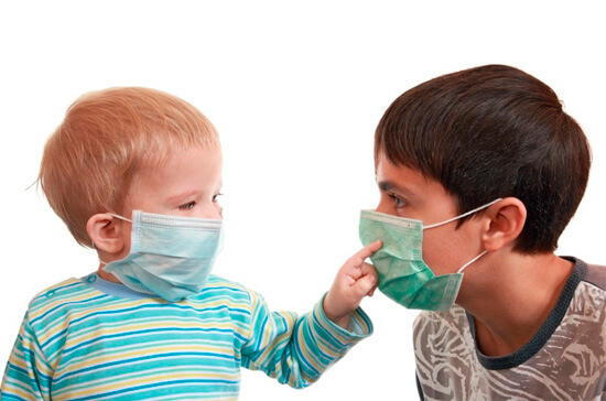 Повязка у детей от аллергического насморка