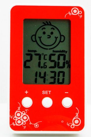 Детский электронный термометр-гигрометр