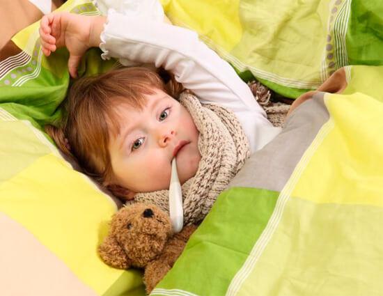 ОРВИ и насморк у ребенка