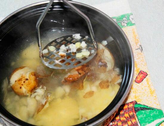 Вареная картошка для ингаляций