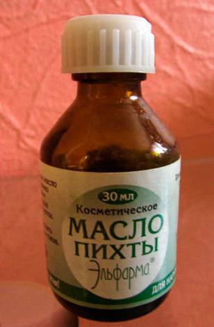 Пихтовое масло от насморка