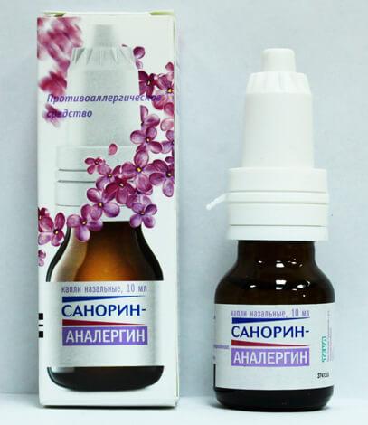 Санорин Аналергин от аллергического насморка