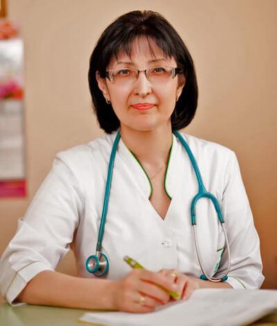 Педиатр за работой
