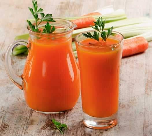 Морковный сок