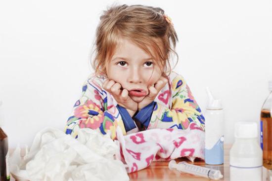 Лечение насморка у ребенка дома