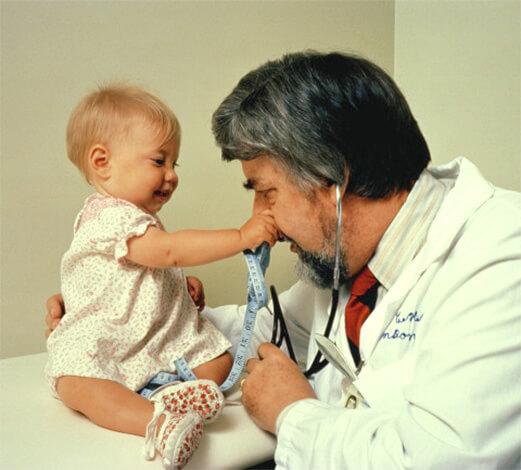 Визит к врачу с ребенком