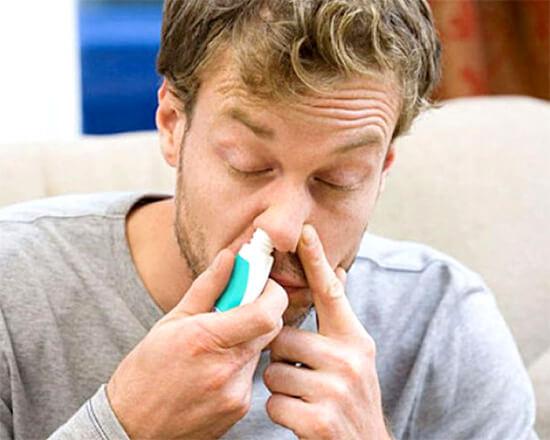 Применение сосудосуживающих препаратов от насморка