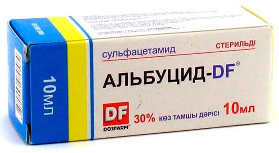 Альбуцид (Сульфацетамид)