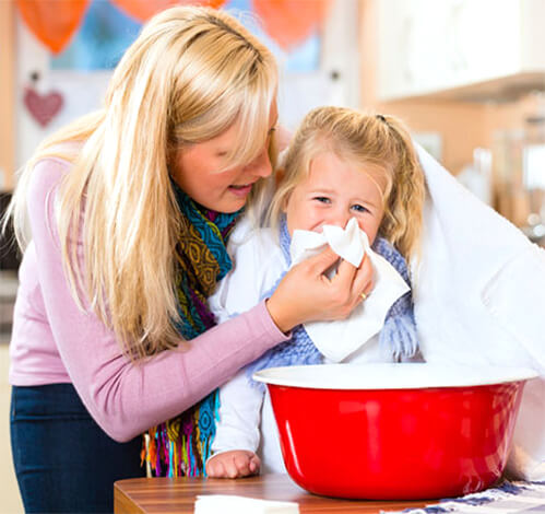 Ингаляции для детей при насморке