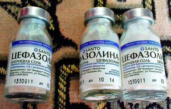 Цефазолина натриевая соль