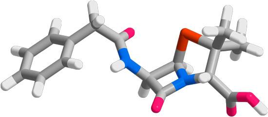Пенициллин (молекула)