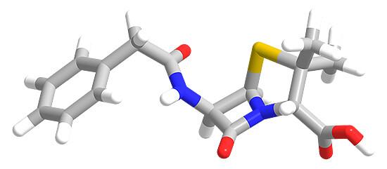Молекула пенициллина