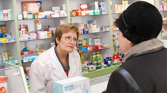 Продажа пенициллина в аптеке
