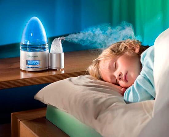 Поддержание нормальной влажности воздуха