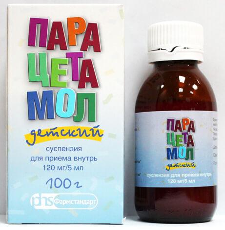 Парацетамол для детей