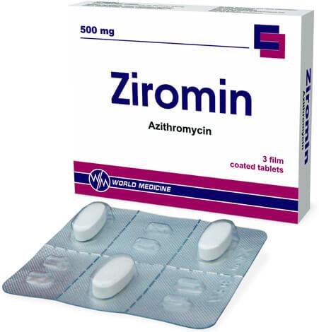 Как и другие препараты азитромицина для взрослых, Зиромин продается в виде трех таблеток.