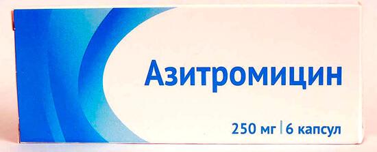 По частоте применения при ангине Азитромицин лишь слегка уступает защищенным пенициллинам.