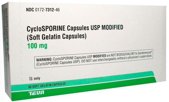 При одновременном приеме циклоспоринов и пенициллинов часто усиливаются побочные эффекты первых.