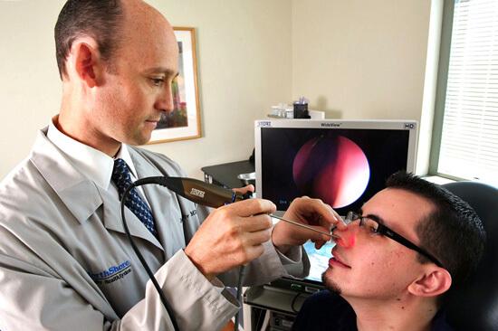 Эндоскопия носа