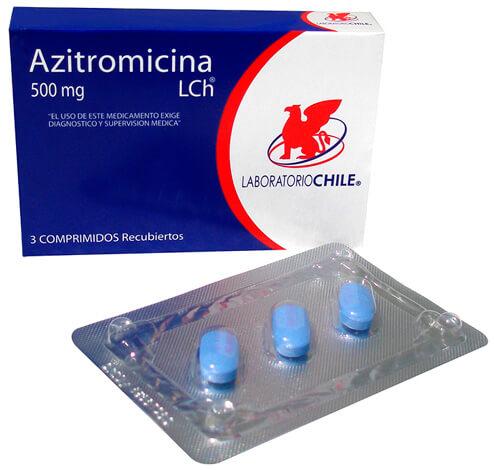 Чилийский вариант лекарства от ангины на основе азитромицина.