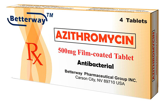 лечения азитромицином
