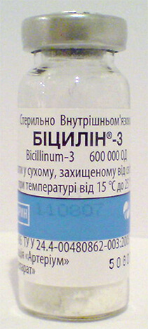 Механизм действия бициллинов делает их более пригодными для профилактики осложнений ангины, чем для лечения в острый период.
