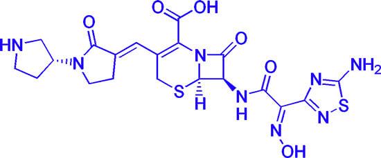Один из самых современных цефалоспориновых антибиотиков.