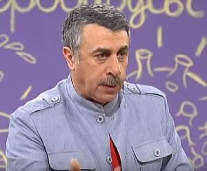 Что говорит доктор Комаровский про лечение герпетической ангины у детей?