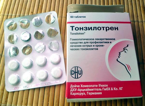 Попытка вылечить ангину Тонзиллотреном аналогична отсутствию лечения вообще.