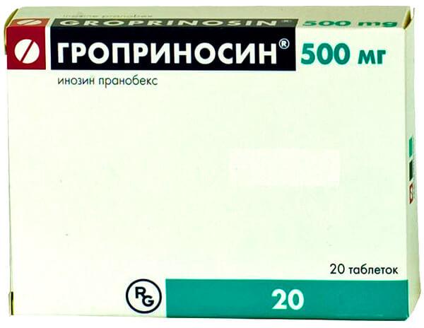 Гроприносин относится к противовирусным средстам, но весомых доказательств его эффективности в этой ипостаси нет.