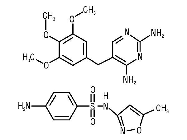 Действующие компоненты Бисептола усиливают действие друг друг только в экспериментах in vitro, не проявляя того же эффекта in vivo.