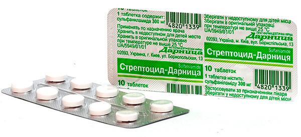 Стрептоцид - некогда популярное, но сегодня утратившее свою значимость средство от ангины.