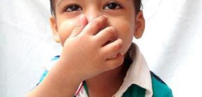 Что означает заложенность носа без насморка у ребенка и как с ней бороться?
